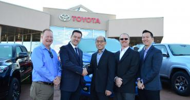 OpenRoad Acquires Sunrise Toyota Abbotsford