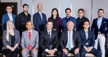 Christian Chia, CEO of OpenRoad Auto Group (bottom centre) with members of the OpenRoad Auto Group executive team and OpenRoad Leadership Development Program participants.