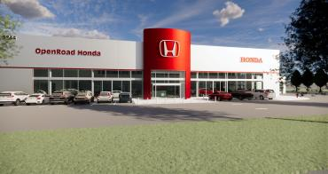OpenRoad Auto Group Breaks Ground On New Honda Dealership in Burnaby
