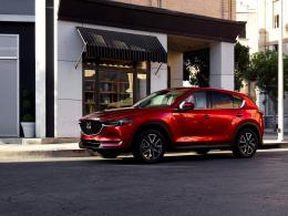 Second-generation 2017 Mazda CX-5