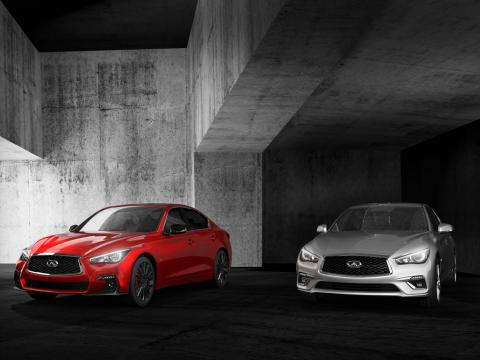 Infiniti Q50 receives enhancements for 2018