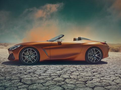 BMW Concept Z4 goes back to bare essentials
