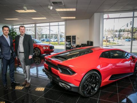 bellevue supercar destination for Bentley, Rolls-Royce, Lamborghini and McLaren