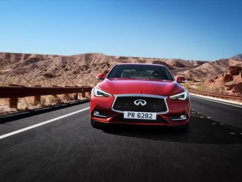 Two new Infiniti offerings for 2017: Q60 coupe and QX30 crossover