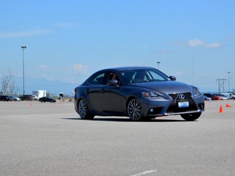 The 2014 Lexus IS performed