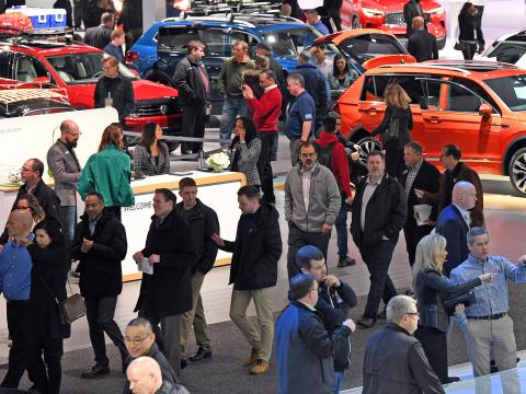 NAIAS 2019 attendees