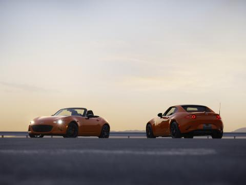 Mazda MX-5 30th Anniversary Edition models