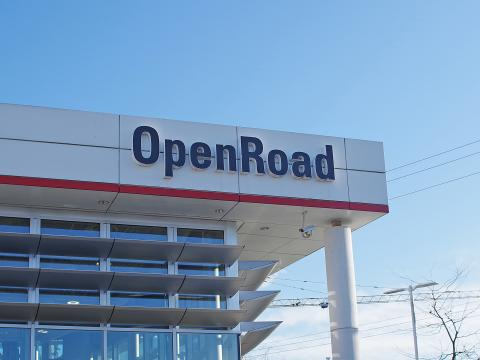 openroad toyota port moody signage