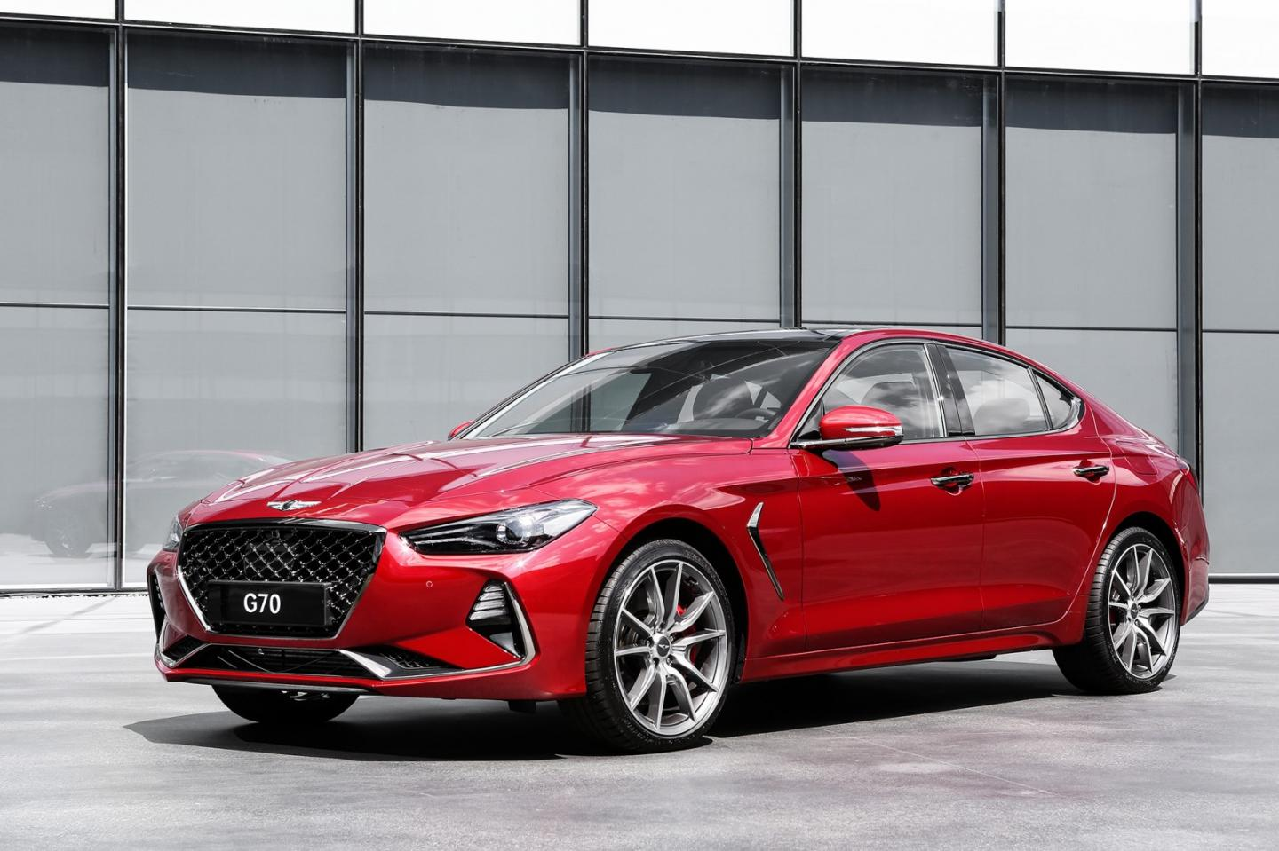 Genesis G70 compact luxury sport sedan arrives next year