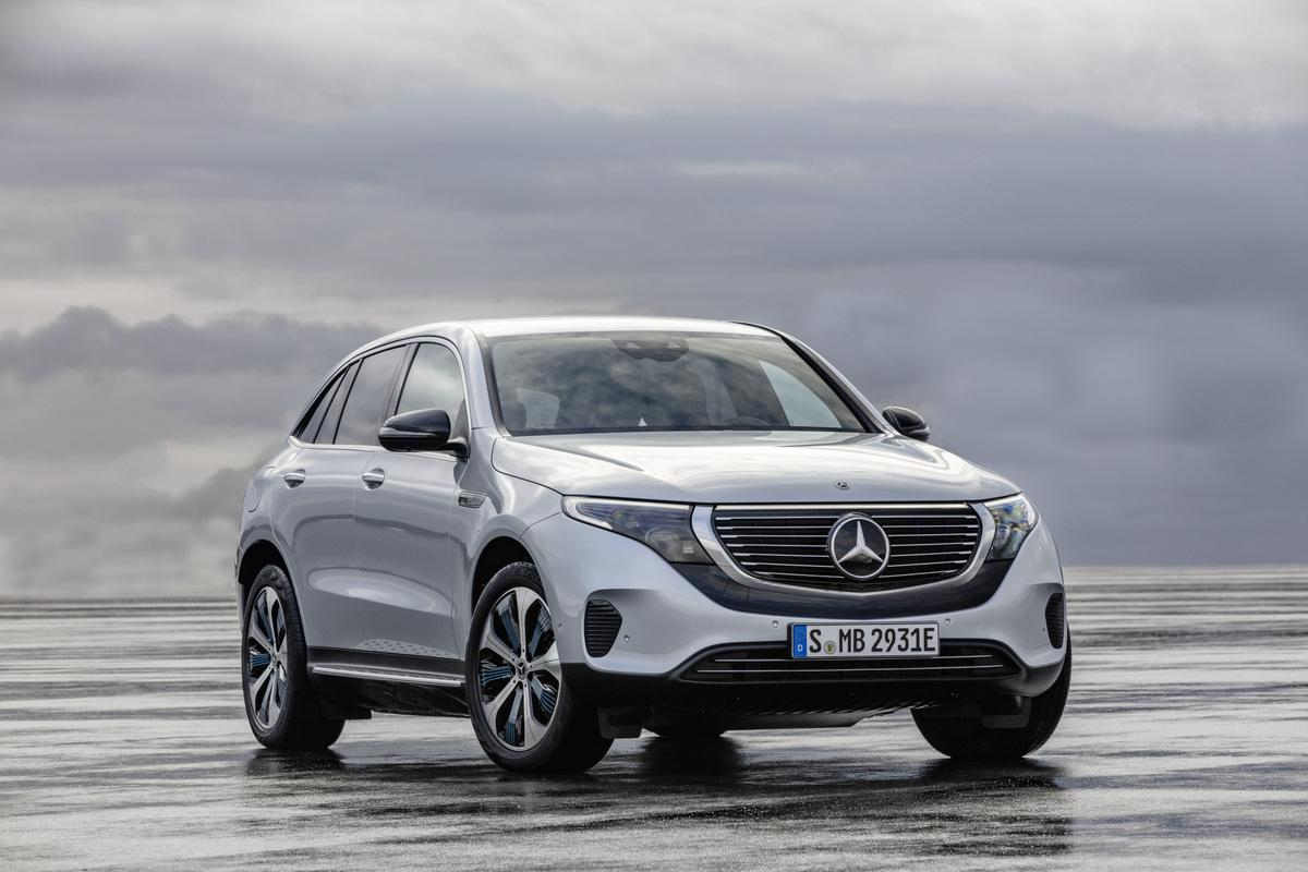 Mercedes-Benz EQC fully electric crossover
