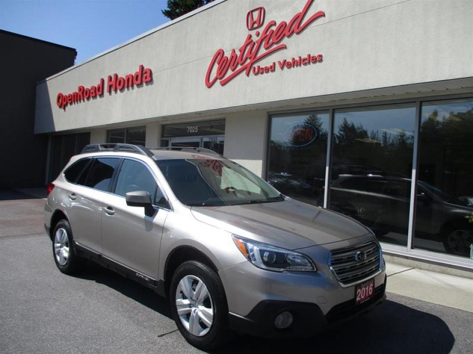 Open Road Honda Burnaby >> Used 2016 Subaru Outback 2 5i For Sale In Vancouver