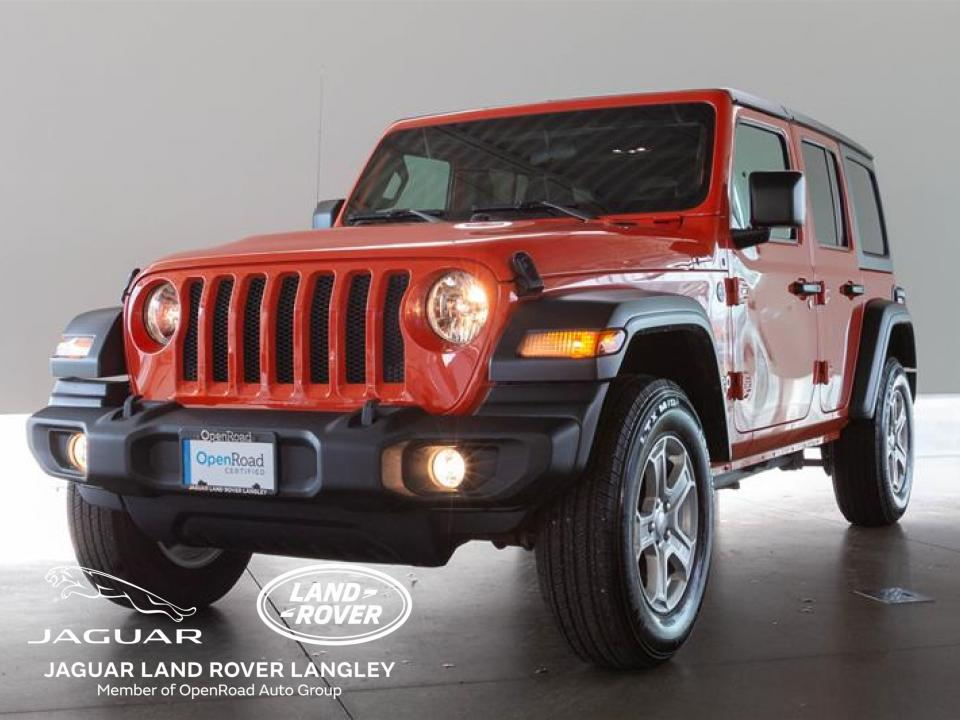 Used 2019 Jeep Wrangler Unlimited Sport For Sale in ...