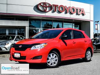 2012 Toyota Matrix FWD 4A