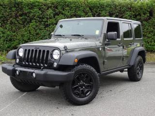 2015 Jeep Wrangler Unlimited Willy Wheeler Edition