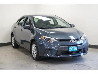 2016 Toyota Corolla 4-door Sedan LE ECO CVTi-S
