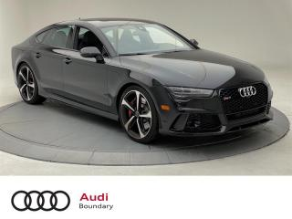 2017 Audi RS 7 4.0T quattro 8sp Tiptronic