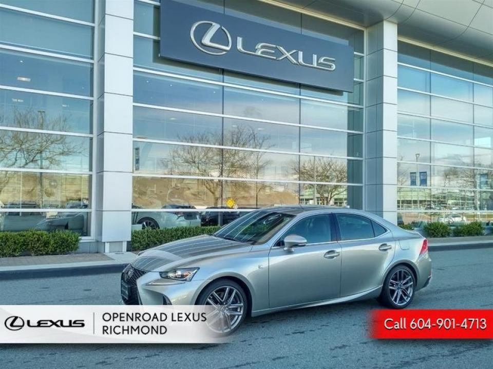 Open Road Lexus Richmond >> Used 2018 Lexus Is Is 350 In Vancouver Openroad Auto Group