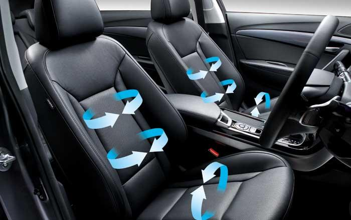 How high tech ventilated seats increase fuel efficiency and reduce pollution