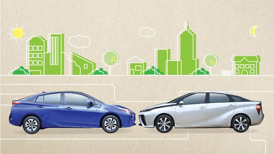 Toyota talks achievements, goals in 2015 environmental report