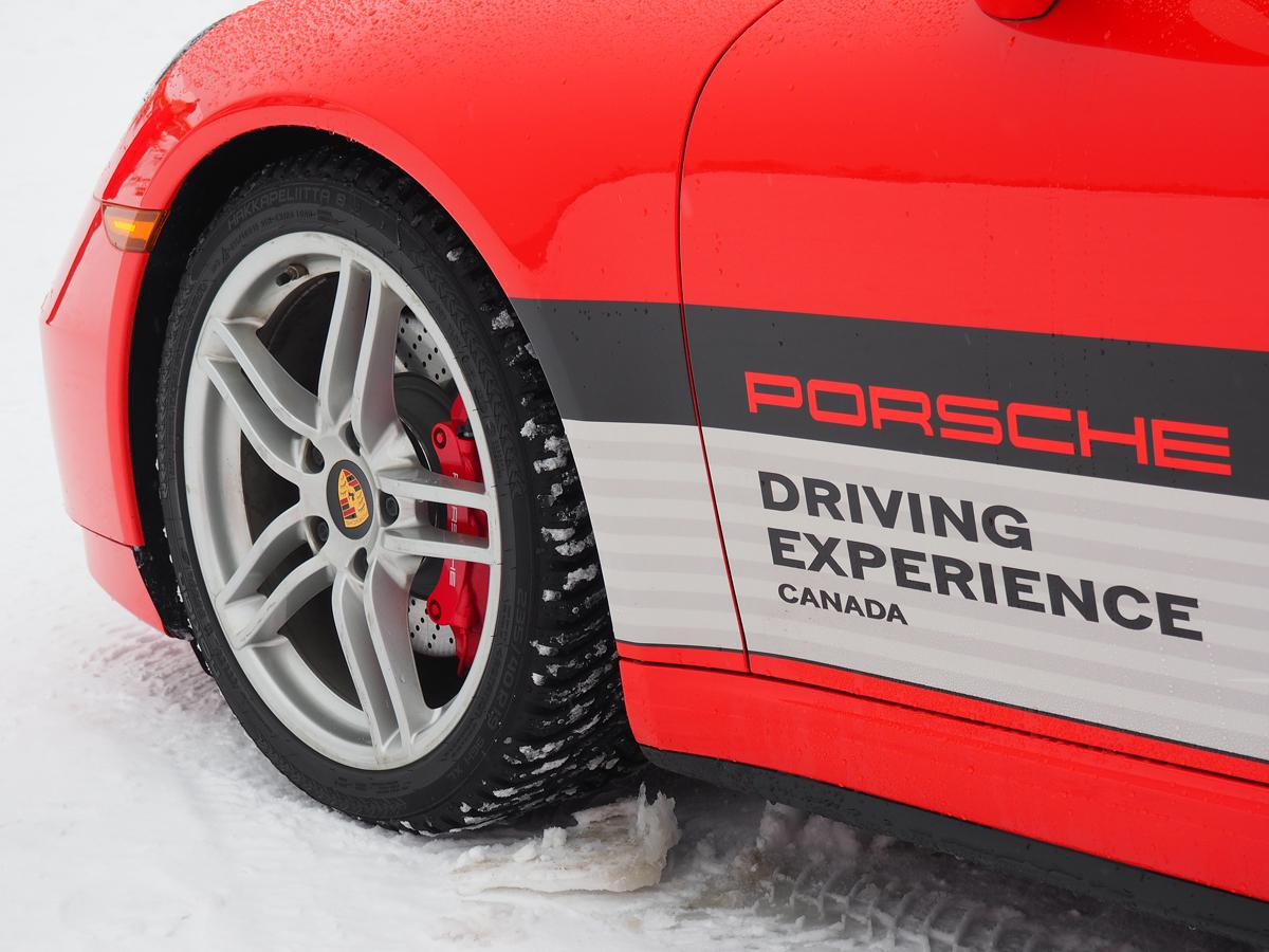 Porsche Camp4 Canada offers winter driving excitement