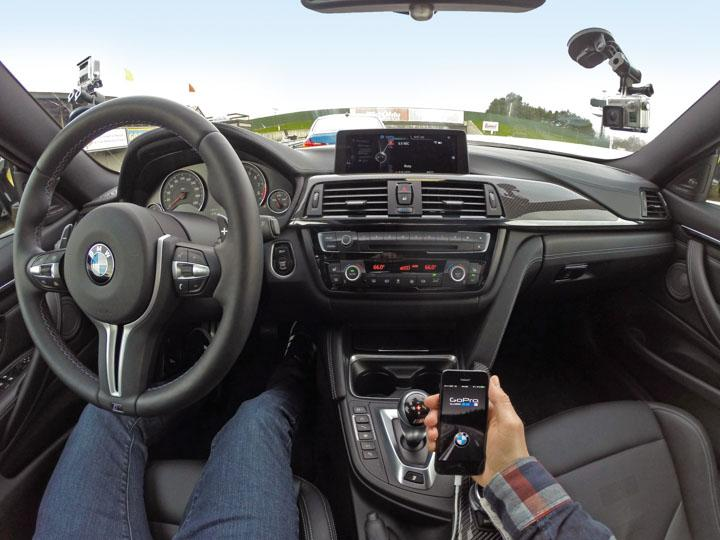 Integrated GoPro Control – Coming soon to a BMW and MINI near you
