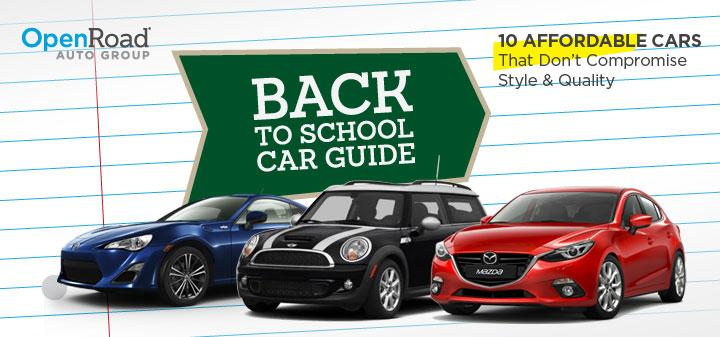 Back-To-School Cars 2013-2014