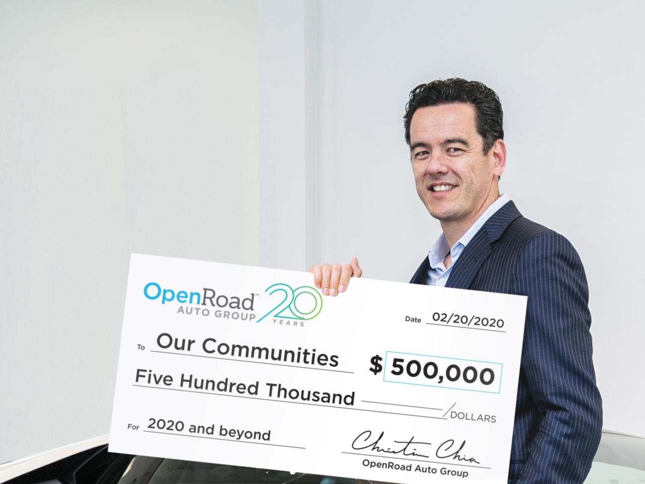 OpenRoad's Christian Chia donates $500,000 to charities in 2020