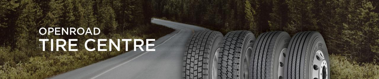 OpenRoad Tires and tire storage in vancouver