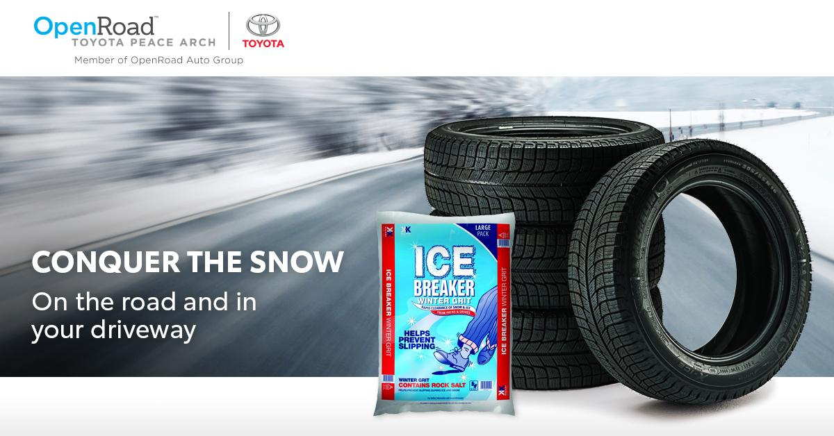 OpenRoad Toyota Peace Winter Tire Promotion