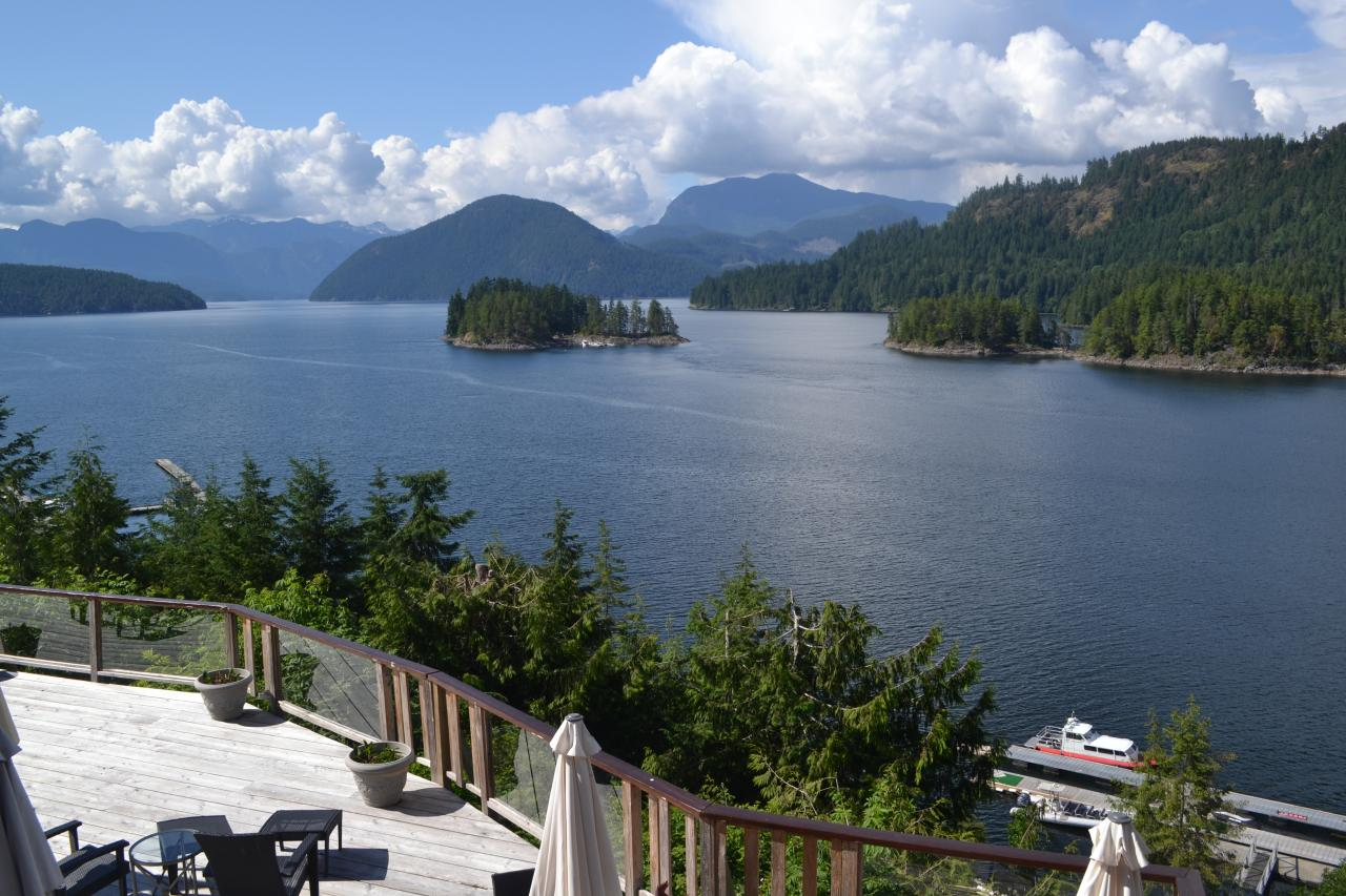 View of the Princess Louisa Inlet