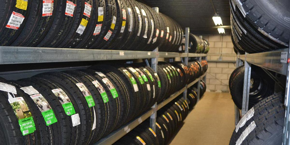 Tire Storage at Openroad Hyundai Richmond