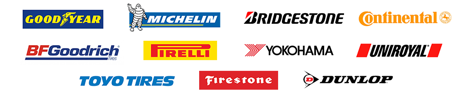 Tire brands at Openroad Toyota Abbotsford