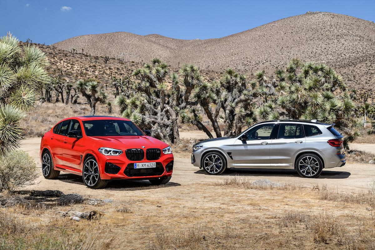 2019 BMW X4M and X3M