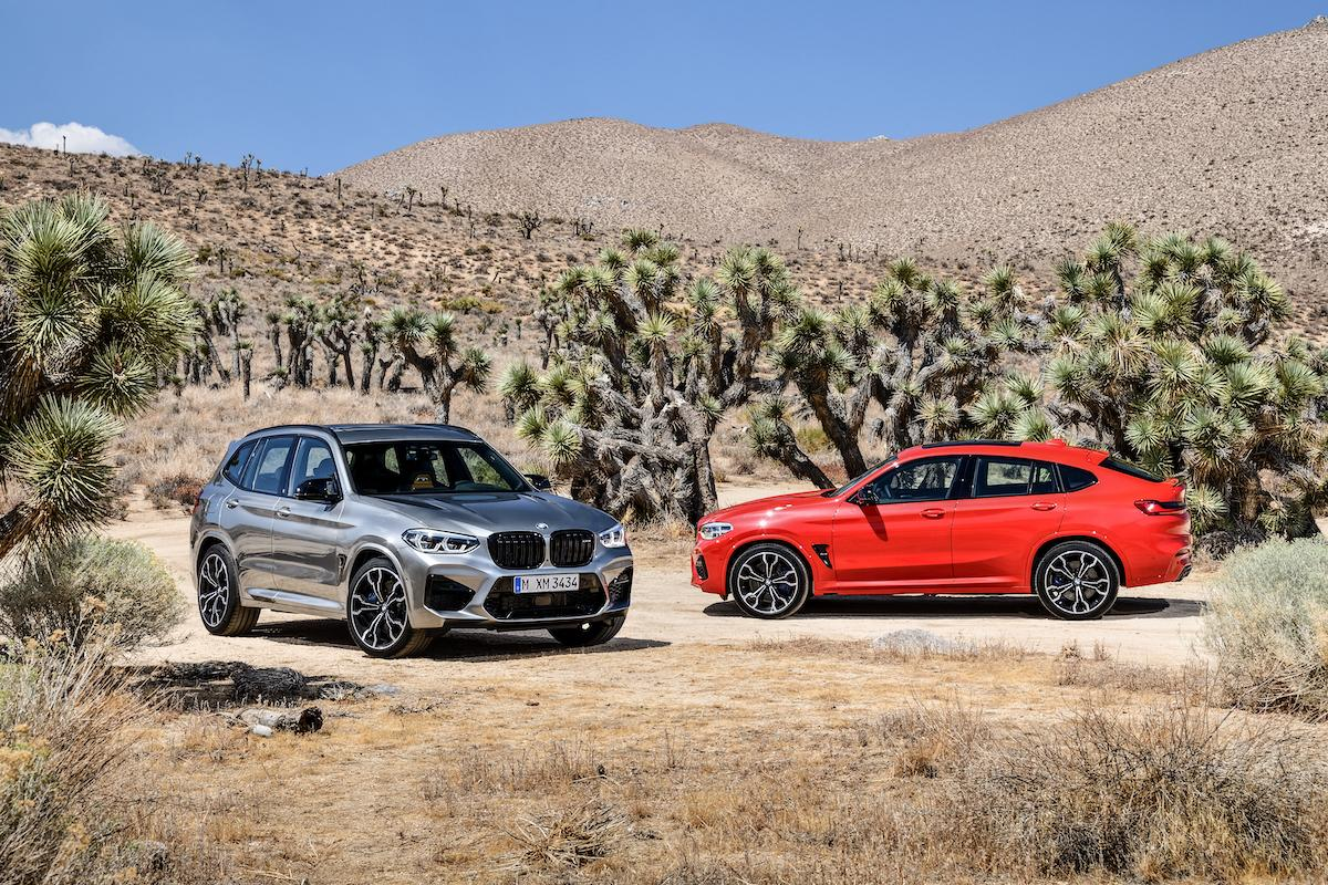 2019 BMW X3M and X4M