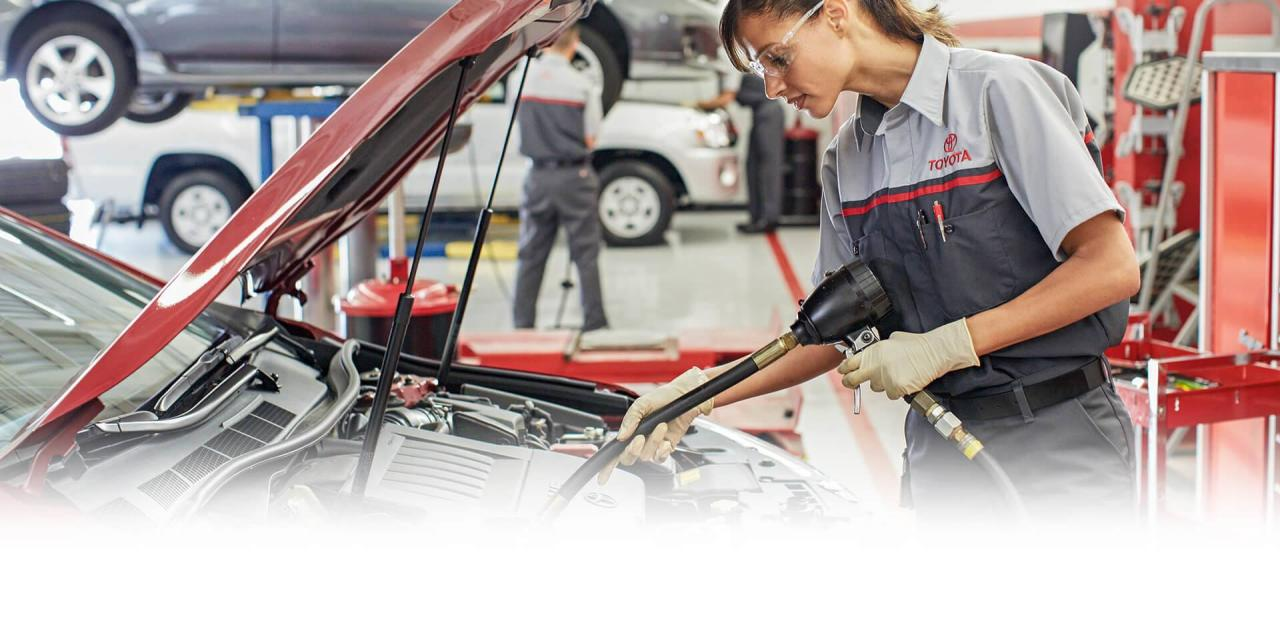 Service and Parts Department at OpenRoad Toyota Abbotsford