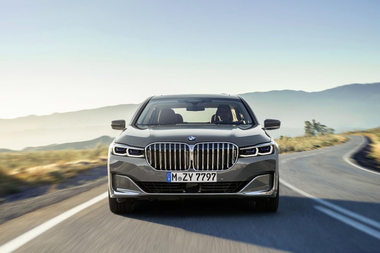 2020 BMW 7 Series front kidney grille