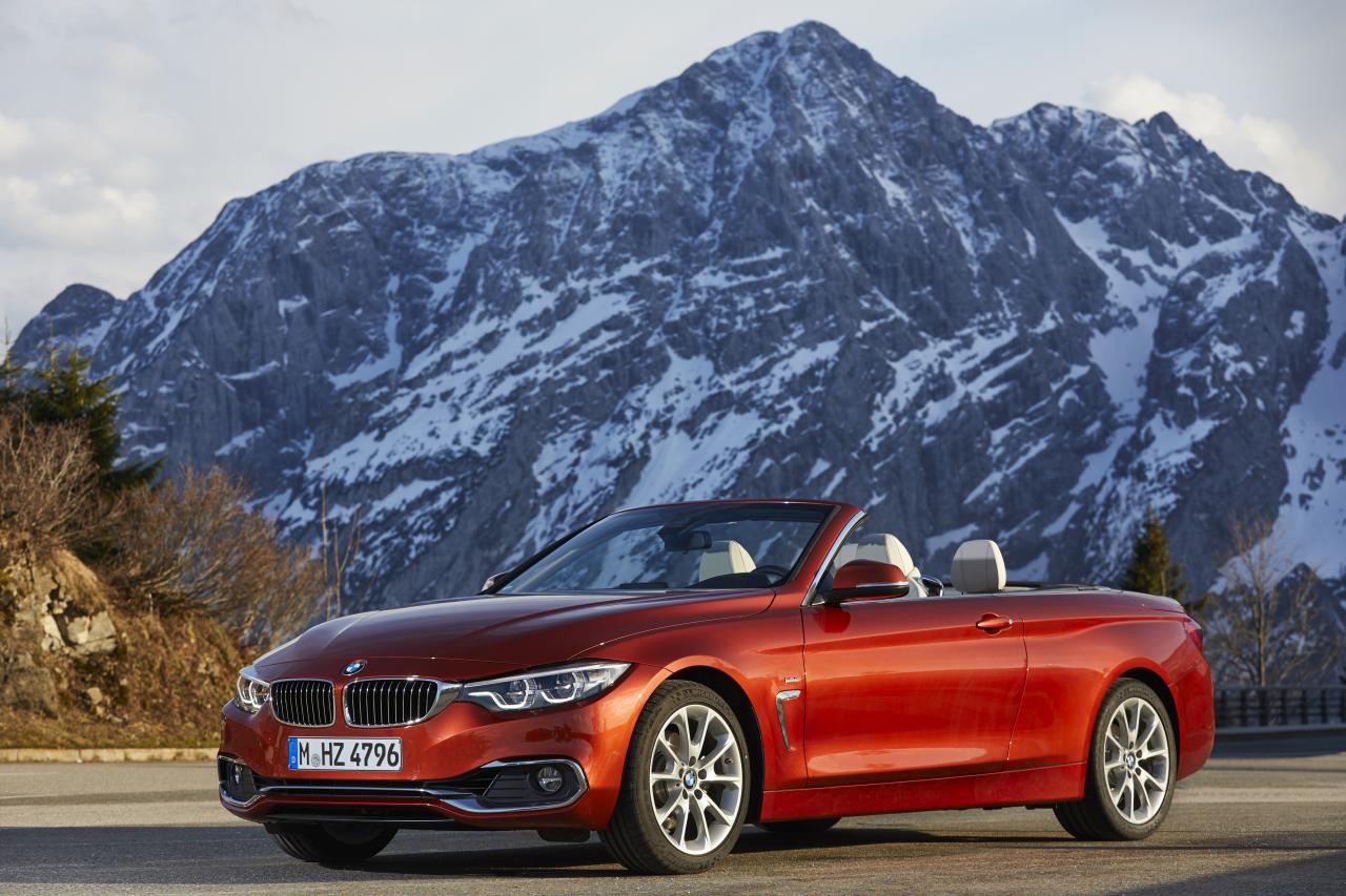 2019 bmw 4 series convertible front