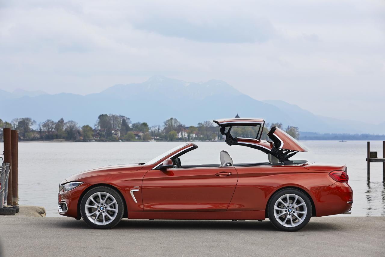 2019 bmw 4 series convertible power top