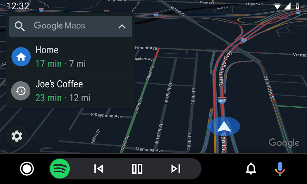 android auto 2019 google maps