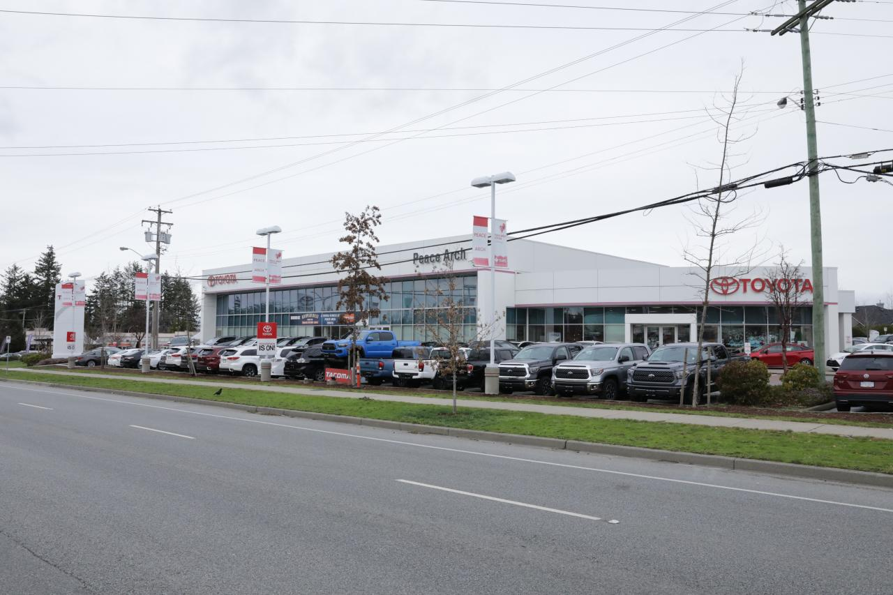 OpenRoad Toyota Peace Arch Dealership