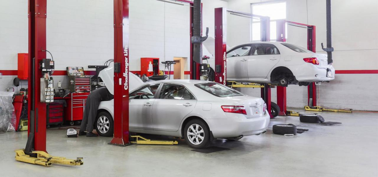 Toyota Abbotsford Service and Parts Department