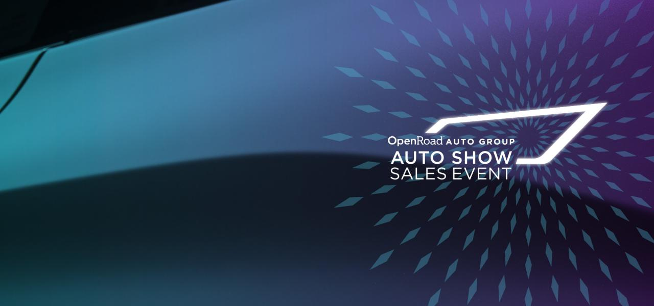 OpenRoad Auto Group Auto show Sale on now 2019