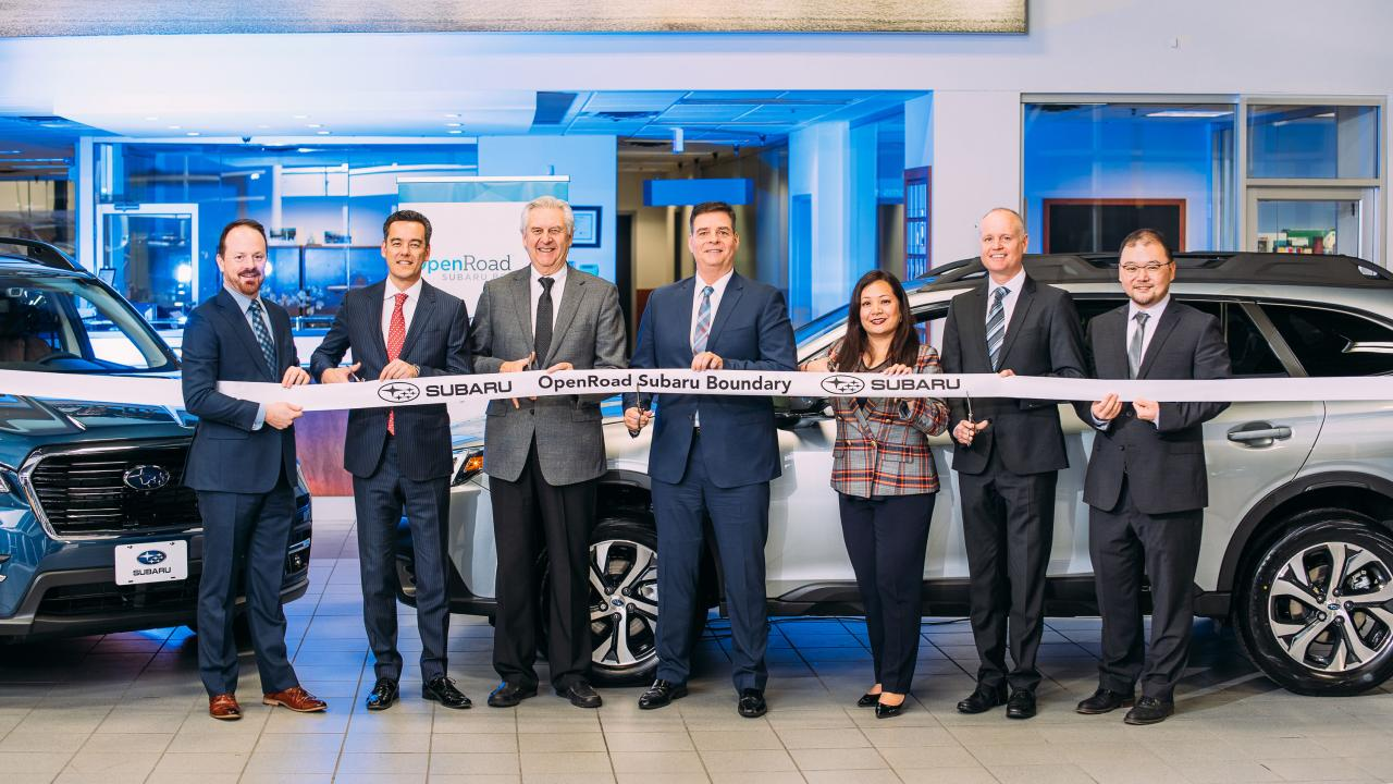 OpenRoad Auto Group adds Subaru to its portfolio of dealerships
