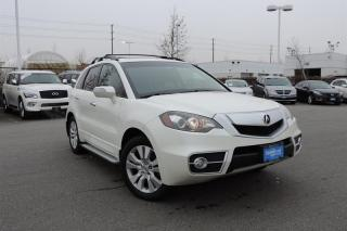 2010 Acura RDX 5 sp at