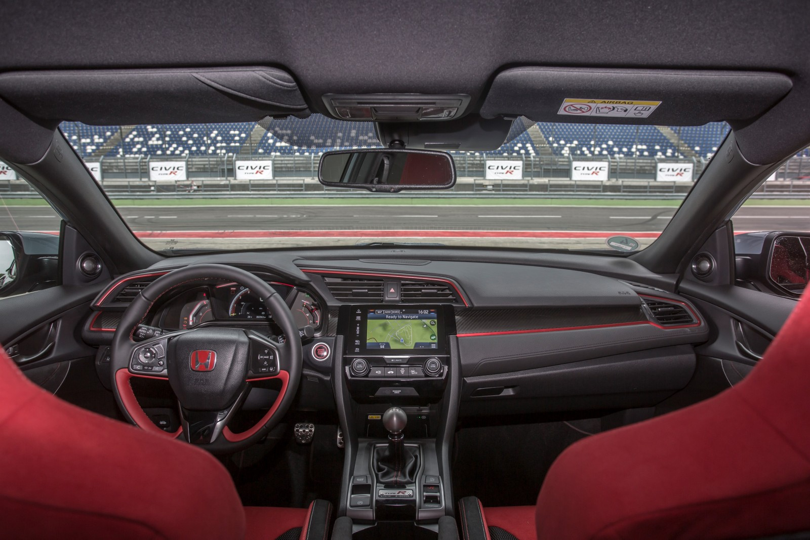 2017 Honda Civic Type R interior
