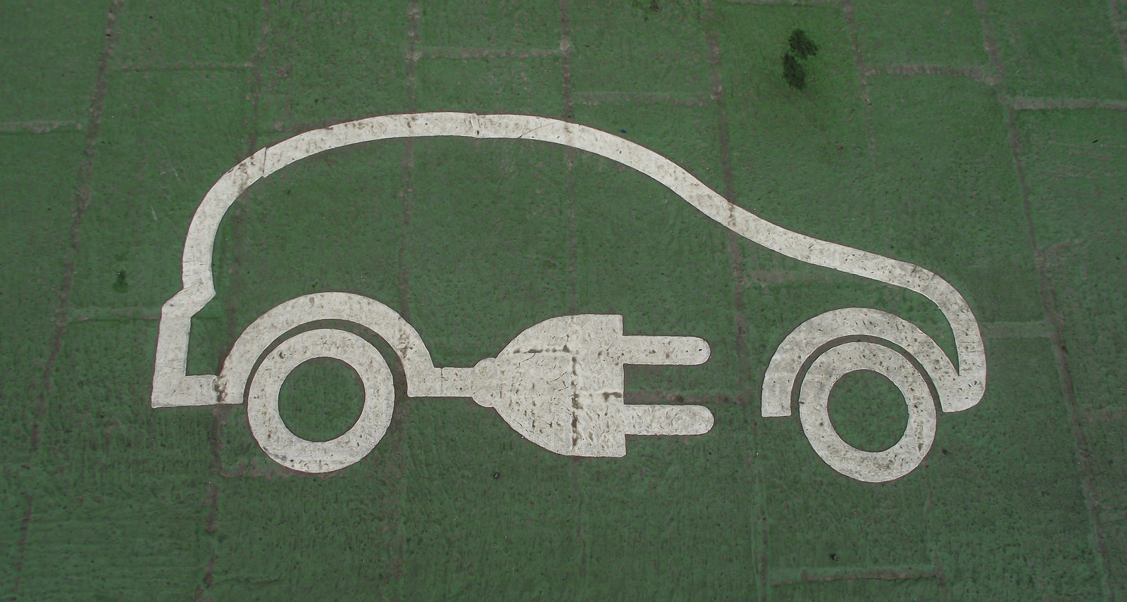 electric vehicle logo