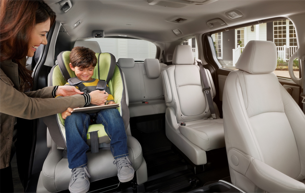 2018 honda odyssey magic slide