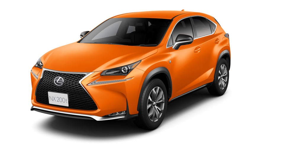 lexus nx 200t lava orange