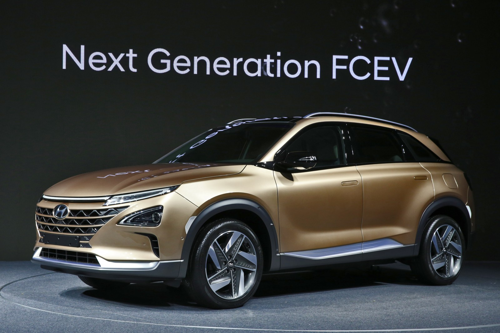 Hyundai next-gen fuel cell vehicle