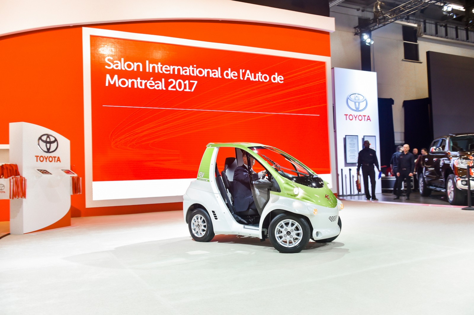 Toyota COMS Montreal International Auto Show